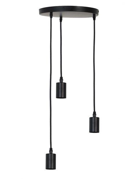 2840ZW-Hanglamp met 3 pendels