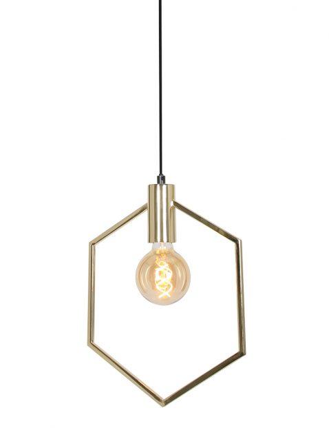 2862GO-Zeshoek hanglamp