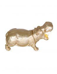 Gouden nijlpaard tafellamp-2924GO