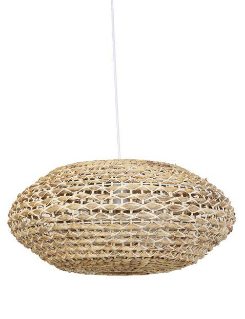 2932BE-Grote rotan hanglamp