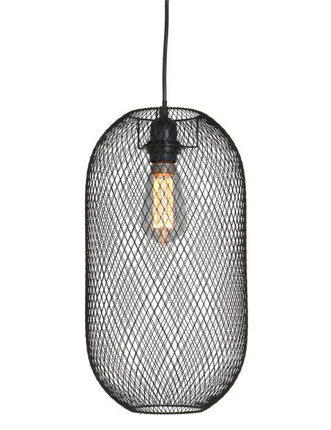 Gaas hanglamp zwart-2706ZW