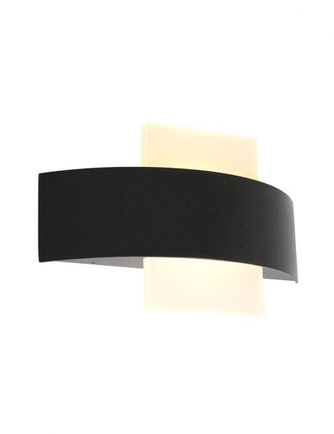 Half ronde LED buitenlamp Steinhauer Cebu zwart