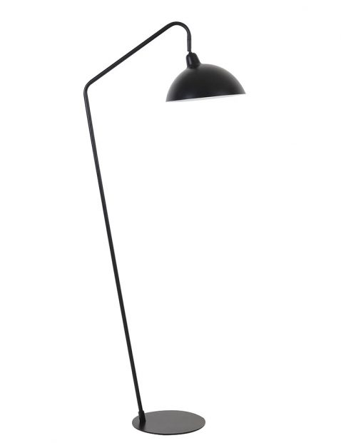 Leeslamp met gebogen arm Light & Living Orion zwart