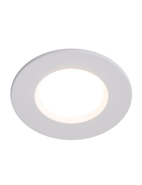 LED inbouwspot badkamer Nordlux Mahi wit
