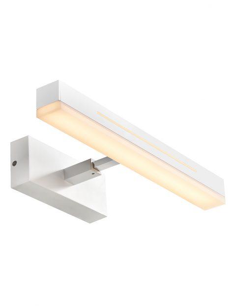 Spiegellamp badkamer Nordlux Otis wit