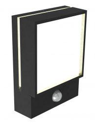 Buitenlamp met bewegingssensor Nordlux Egon zwart