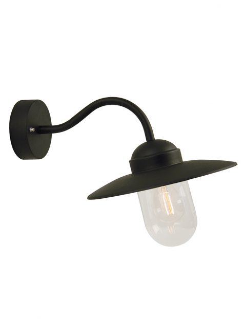 Stallamp Nordlux Luxembourg zwart