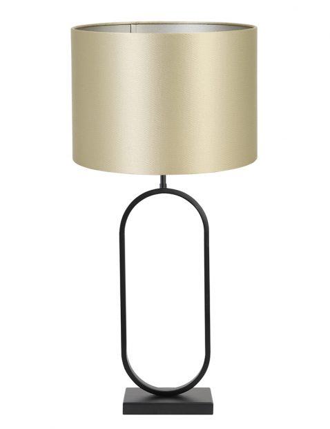 Lampenvoet met gouden kap Light & Living Jamiri zwart
