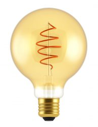 Ronde filament lichtbron dimbaar E27 5W Nordlux