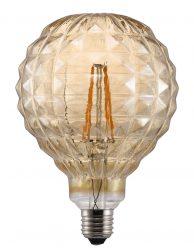Rond filament peertje LED E27 2W Nordlux