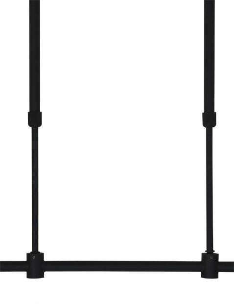 Zwart frame 2568ZW in hoogte verstelbaar