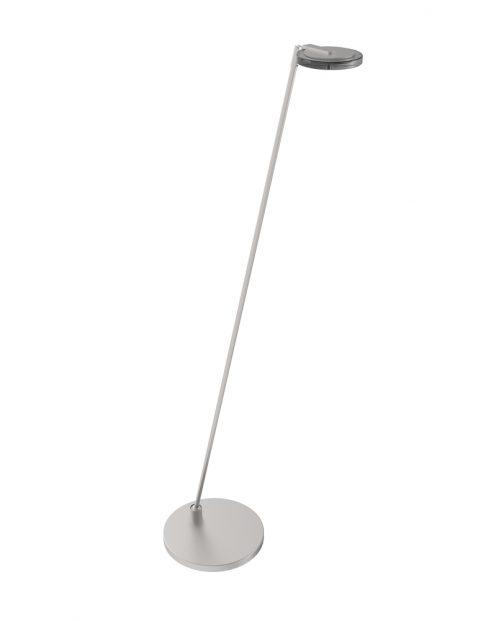 Minimalistische design vloerlamp Steinhauer Turound staal