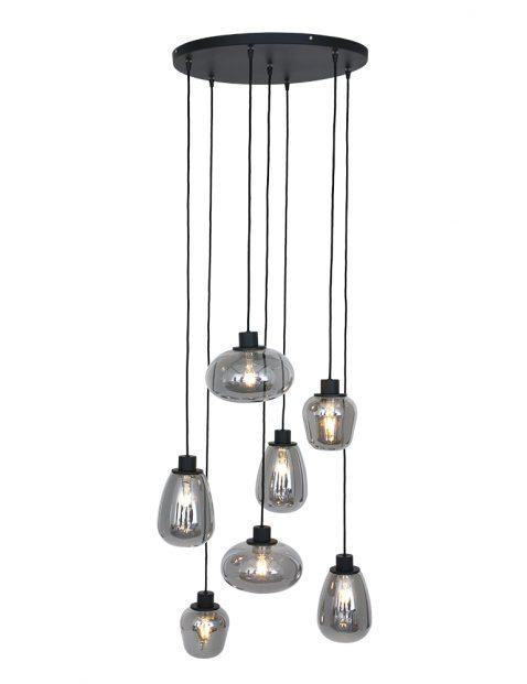 Rookglas videlamp Steinhauer Reflexion zwart