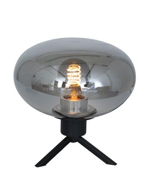 Klein tafellampje met rookglas Steinhauer Reflexion
