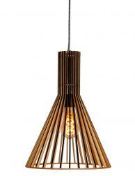 Strak houten hanglamp Steinhauer Smukt