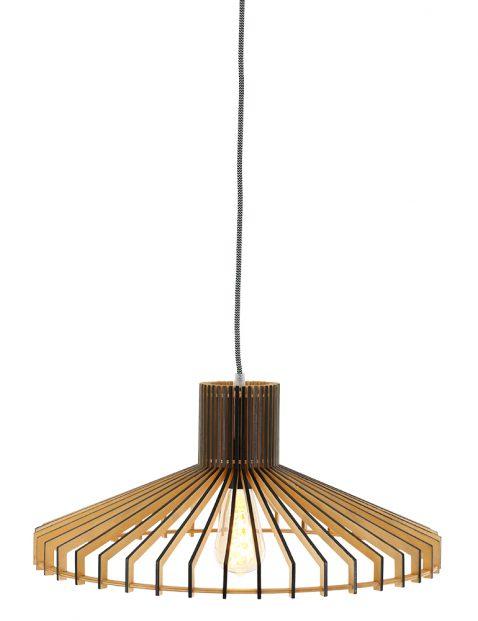 Houten eettafellamp Steinhauer Smukt