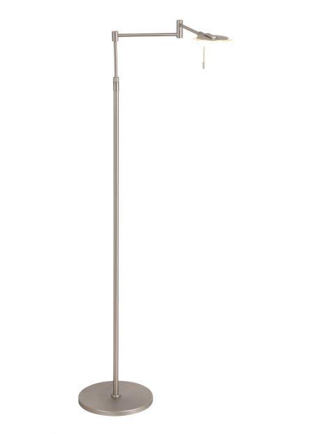 Verstelbare leeslamp Steinhauer Turound LED staal