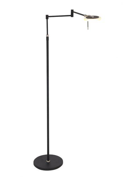 Dimbare leeslamp Steinhauer Turound LED zwart