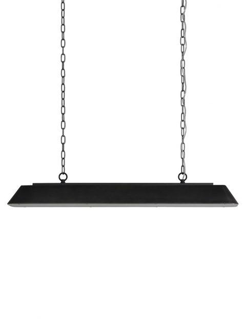 Industriële eettafellamp Light & Living Stef zwart