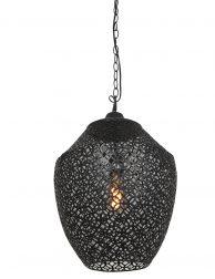 2843ZW-Hanglamp met open patroon