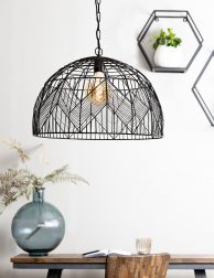 2860ZW-Patroon draad hanglamp