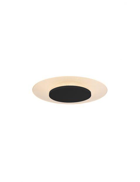 Moderne plafonière Steinhauer Lido zwart