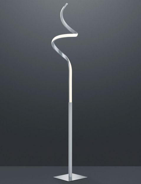 Vloerlamp met spiraal