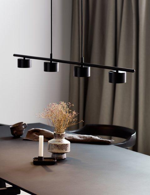 Moderne vierlichts LED eettafellamp-3006ZW