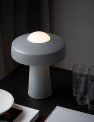 Desig tafellamp paddenstoel-3010GR
