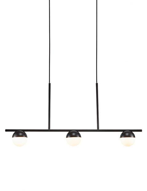 Drielichts hanglamp glas-3011ZW