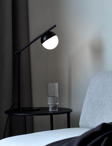 Strakke verstelbare bureaulamp-3012ZW