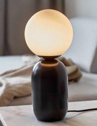 Elegante metalen tafellamp-3020B
