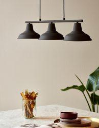 drielichts vintage hanglamp-3021B