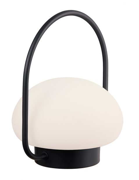 Oplaadbare buiten LED tafellamp-3043ZW