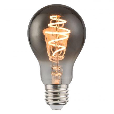 Rookglas lichtbron filament