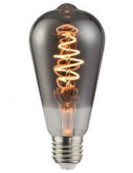 Filament lichtbron rookglas