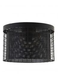 Kooi plafondlamp zwart-