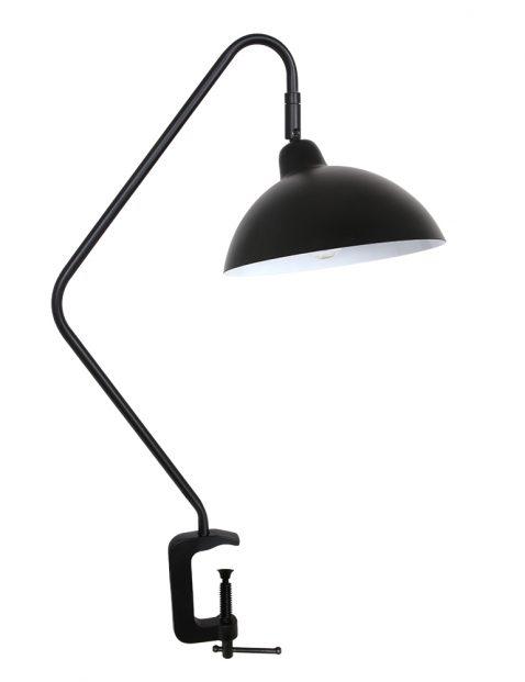 Tafellamp met klem-