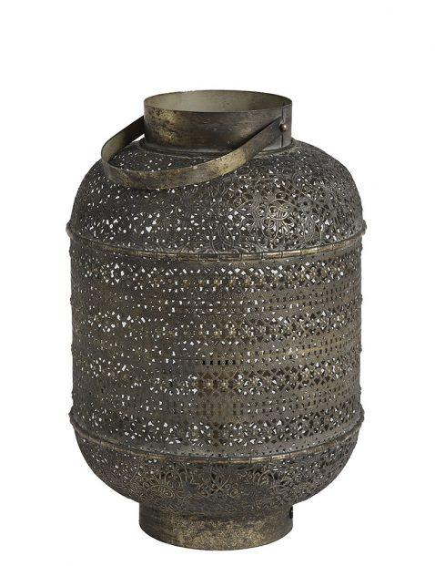 Arabische tafellamp oud goud-