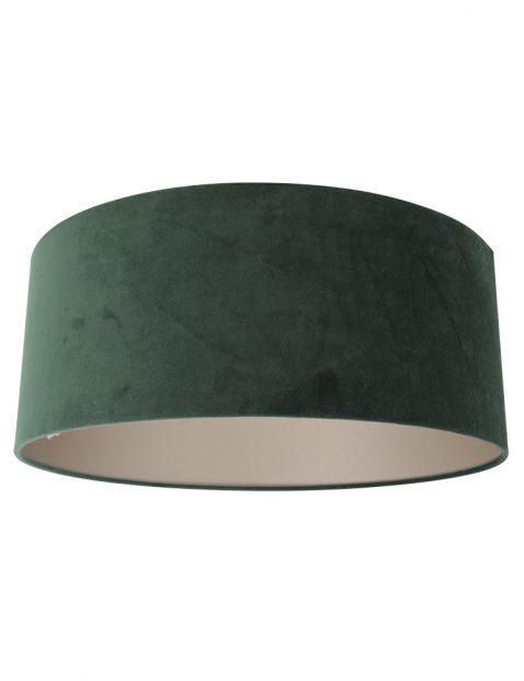 Velours lampenkap groen - K1066VS