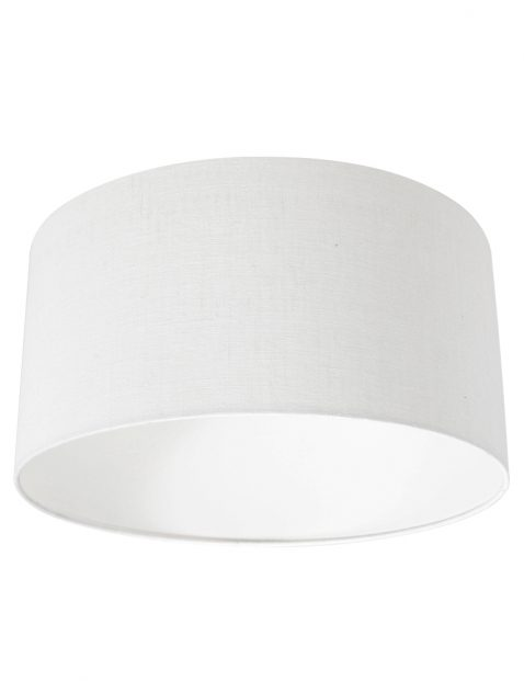 Linnen lampenkap wit - K1068QS