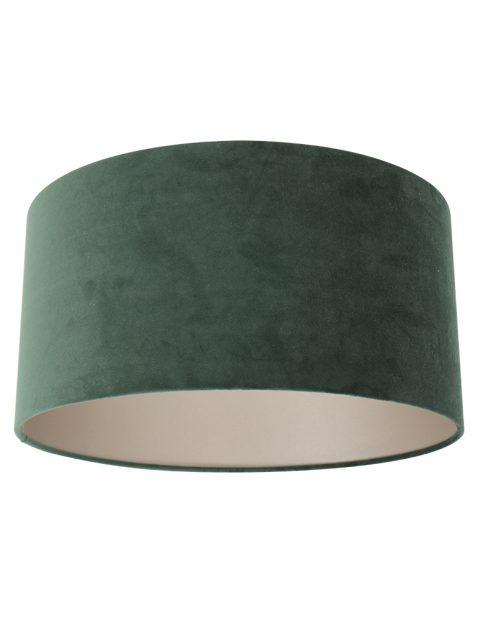 Fluwelen lampenkap groen - K1068VS