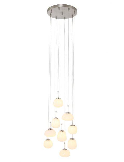 Videlamp met glazen bollen-2567ST