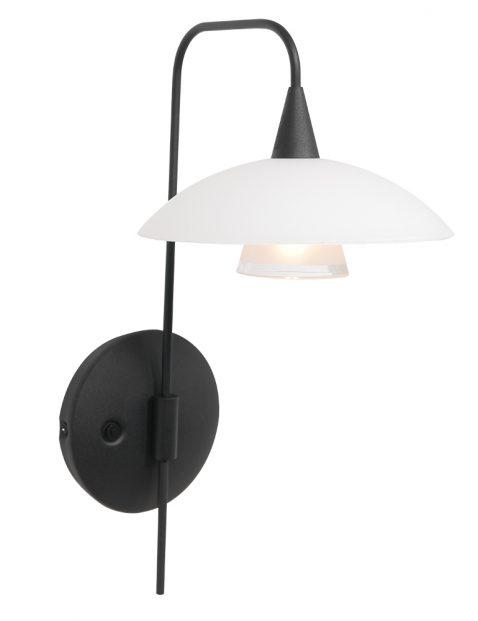 Mat glazen moderne wandlamp-2656ZW