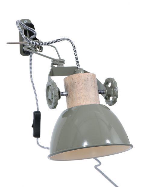 Stoere wand klemlamp-2752G