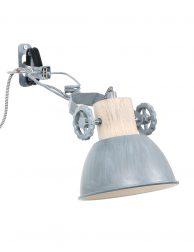 Industriële wandlamp klemspot-2752GR