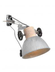 Stoere wand klemlamp-2752NI
