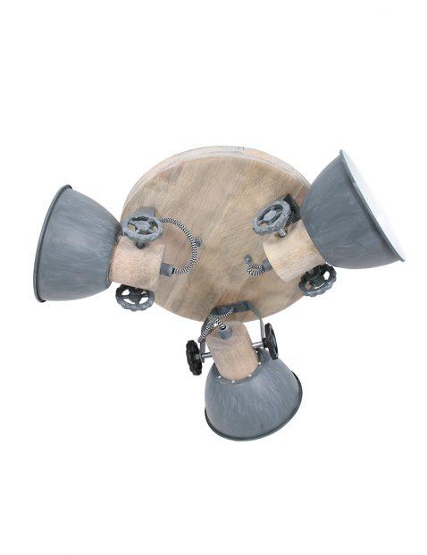Drielichts plafondspot industrieel-3063GR