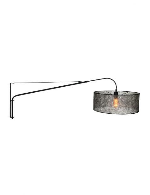 Zwarte wandbooglamp-9320ZW