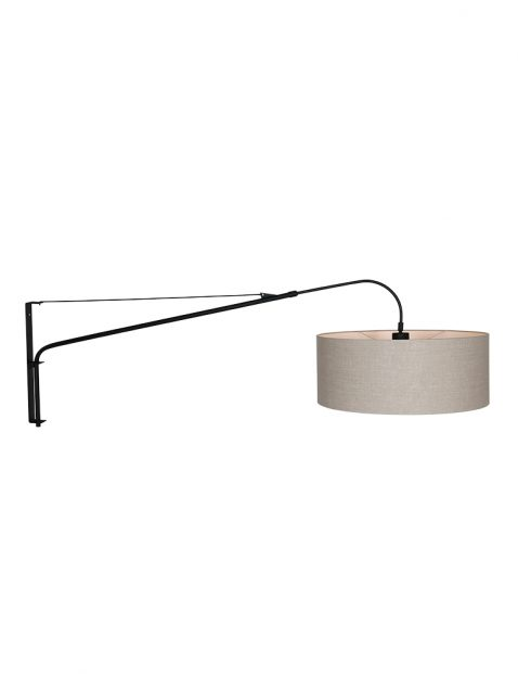 Zwarte booglamp-9324ZW